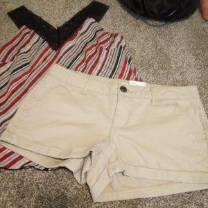 Shorts and top from kols